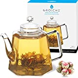 GROSCHE VIENNA Glass Infuser Teapot 1250 ml 42 fl. oz