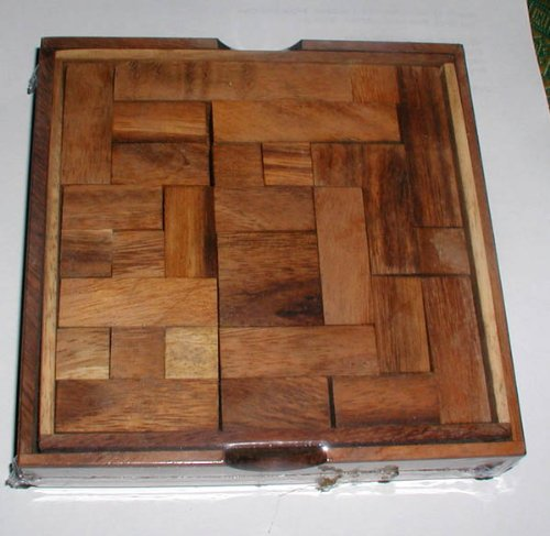 (Pentominoes - size large educational wood puzzle and brain teaser)