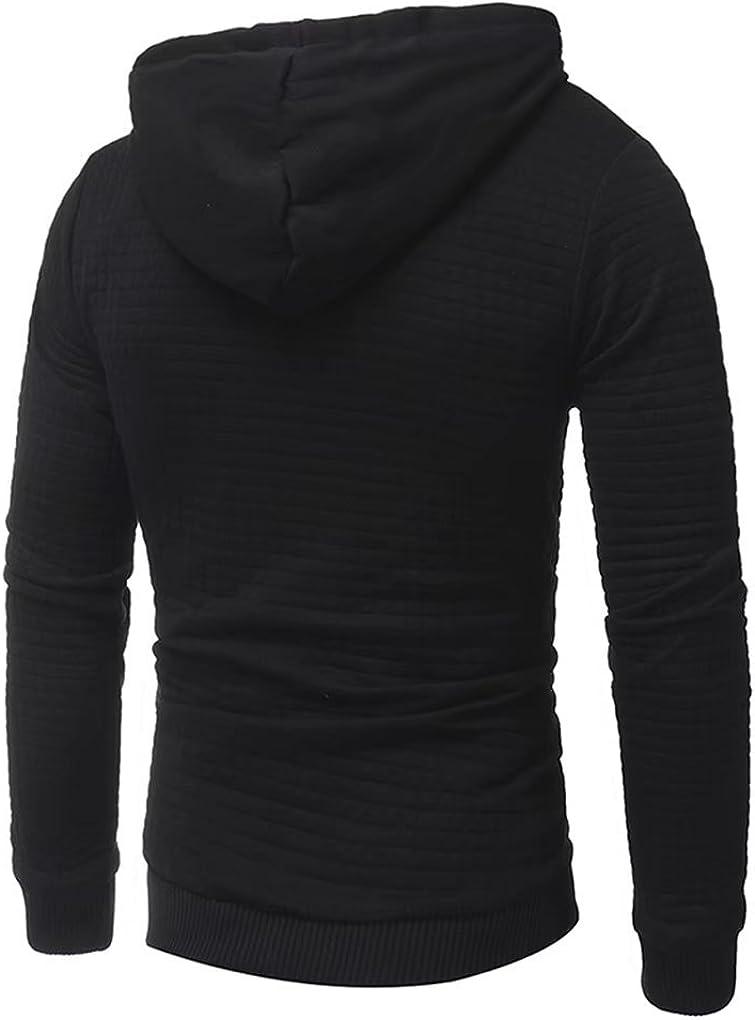 Men/'s Outwear Sweater Winter Hoodie Warm Coat Jacket Hooded Sweatshirt Zipper