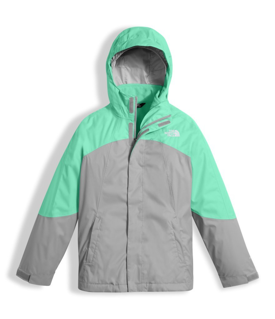 The North Face Girls Mountain View Triclimate Jacket - Bermuda Green - M