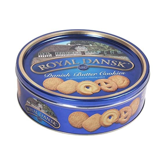 Royal Dansk Cookies, Butter, 400g
