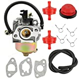 Butom 951-10974 Carburetor with Primer Bulb Fuel Filter Gaskets for MTD CUB CADET TROY BILT 951-10974 951-10974A 951-12705 Snowblower