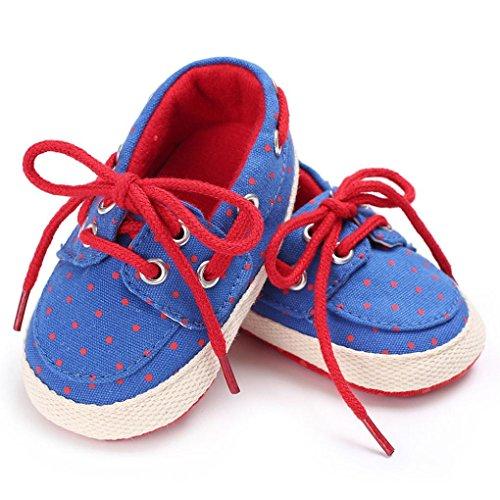 IGEMY Babyschuhe, Kleinkind Jungen Mädchen weicher alleiniger Schuhe Rot