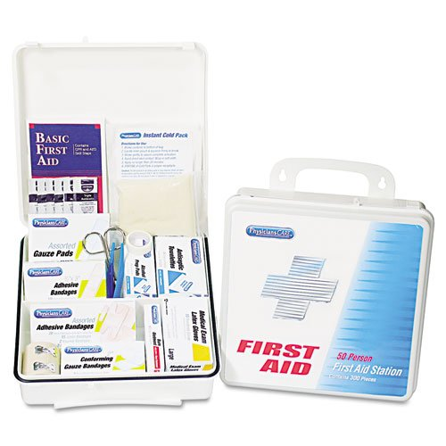 (PhysiciansCare 60003 Office First Aid Kit, for Up to 75 People, 312 Pieces/Kit)