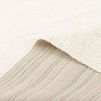 Aloha Blanca Alfombra de pelo largo y denso 7 tama/ños
