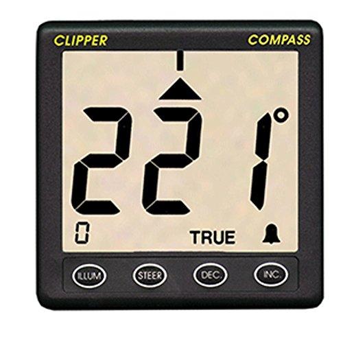 Clipper Compass System w/Remote Fluxgate SensorRemanufactured Marine , Boating Equipment