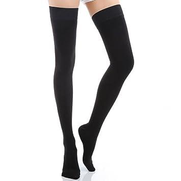 21b0fc56119 Women Medical Burn Fat Thigh High Overknee Compression Stockings 20-30mmHg  Closed toe Slim Legging