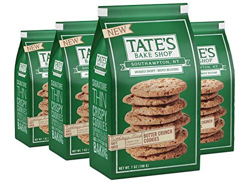 (Tate's Bake Shop Thin & Crispy Cookies, Butter Crunch, 7 Ounce, 4)