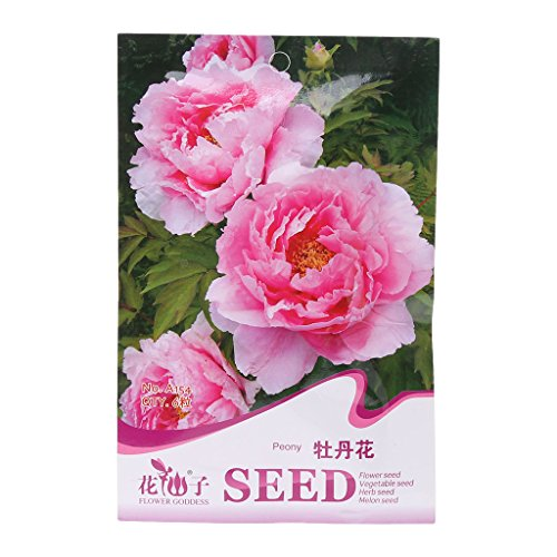 Onpiece Wildflower Seeds, Butterfly Hummingbird Mix Open Pollinated Seeds (12-peony) (Peony Mix)
