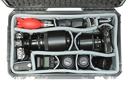 SKB Cases iSeries Storage Organizer iSeries 3i-2011-7/3i-2011-8 Think Tank Designed Padded Divider Set, Gray (5DV-2011-TT)