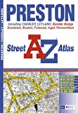 img - for A-Z Preston Street Atlas book / textbook / text book