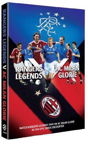 Glasgow Rangers v AC Milan legends game 30.03.12 [DVD]