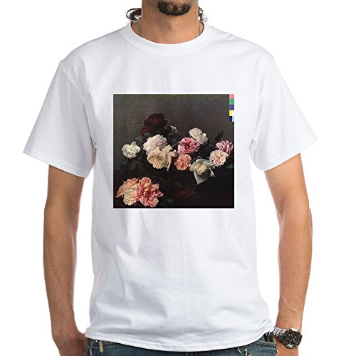 CafePress Power Corruption Lies White T Shirt 100% Cotton T-Shirt, White (New Order Power Corruption And Lies Shirt)