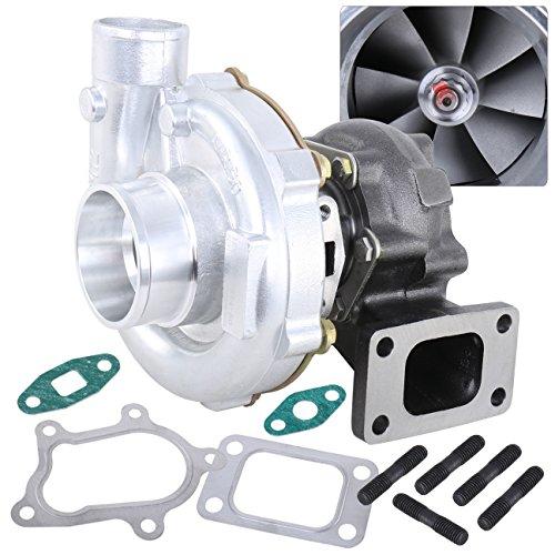 Ajp Distributors Universal Turbo Charger Upgrade .63Ar Turbine Compressor T3/T4 T04B Boost 400 Hp ()