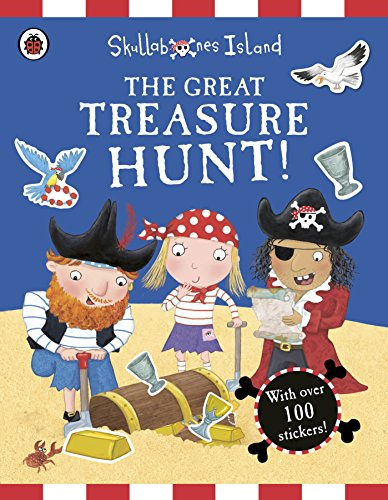 The Great Treasure Hunt a Ladybird Skullabones Island Sticker Activity (Old Lady Halloween Book)