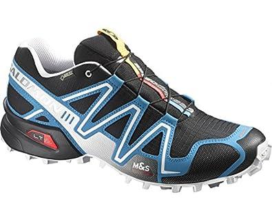 info for d3b2e 37ebd Salomon Men s Speedcross 3 GTX Running Shoes Blue Blau (Black Methyl Blue  White