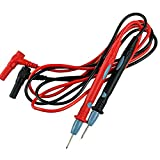 ELECALL A02 Needle Tip Probe Test Leads Pin Hot Universal Digital Multimeter Multi Meter Tester Lead Probe Wire Pen Cable 17mm