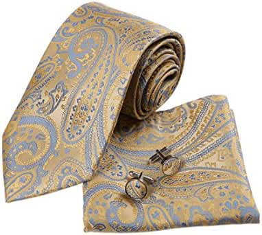 YA-BC-B.03 Various Paisley Jacquard Silk Ties For Husband By Y&G