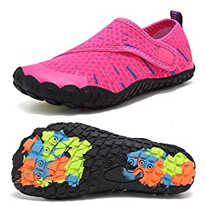 CIOR Boys & Girls Water Shoes Quick Drying Sports Aqua Athletic Sneakers Lightweight Sport Shoes(Toddler/Little Kid/Big…