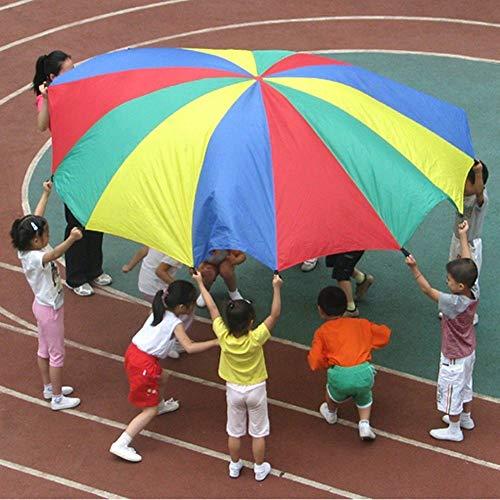 FidgetGear 2M Rainbow Umbrella Parachute Toy Child Kid Sports Outdoor Development Toy from FidgetGear