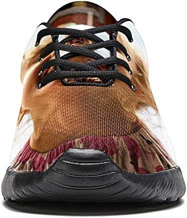 imobaby Chaussures de sport pour femme - Chaussures de course à pied - En maille respirante - Pour marche, randonnée, tennis