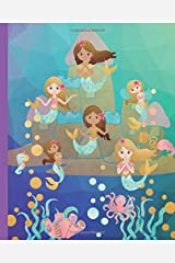 Mermaid Draw and Write Journal: Draw and Write Journal for Kids - Sketch Page and Journal Writing Page Paperback