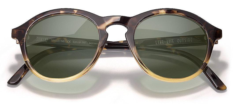 49eb1b943f Amazon.com  Sunski Singlefin Polarized Sunglasses for Men and Women   Clothing