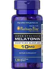 Puritan's Pride Melatonin 10mg, Capsules, 120ct