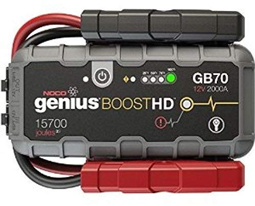 Boost HD 2000 Amp 12V UltraSafe Lithium Jump Starter - Noco Genius GB70