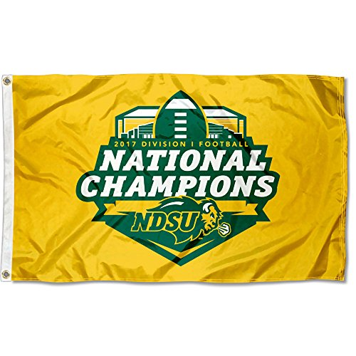 College Flags and Banners Co. North Dakota State Bison 2017 Football National Champions - National Champions Football
