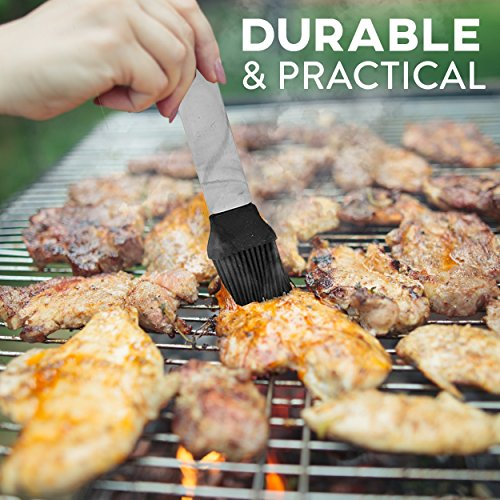 BBQ Grill set 21 Piece Utensil Set, Heavy Duty Stainless Steel Tools, luxurious and essential tools for barbequing, Professional Grilling Accessories for the Expert, Complete Outdoor Kit