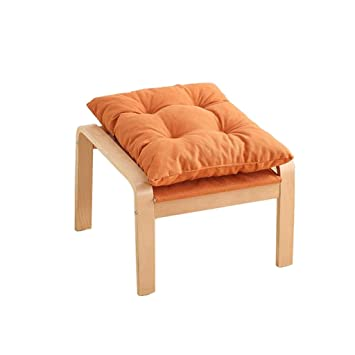 Amazon.com: ZfgG Solid Wood Footstool,Low Stools Small ...