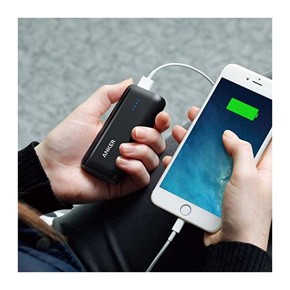 Anker Astro E1 5200mAh Candy bar-Sized Ultra Compact Portable Charger (External Battery Power Bank) with High-Speed Charging PowerIQ Technology 6