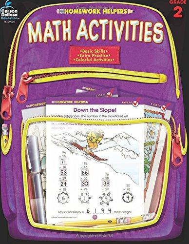 Math Activities, Grade 2 (Homework Helper) (Skills Homework Helper)