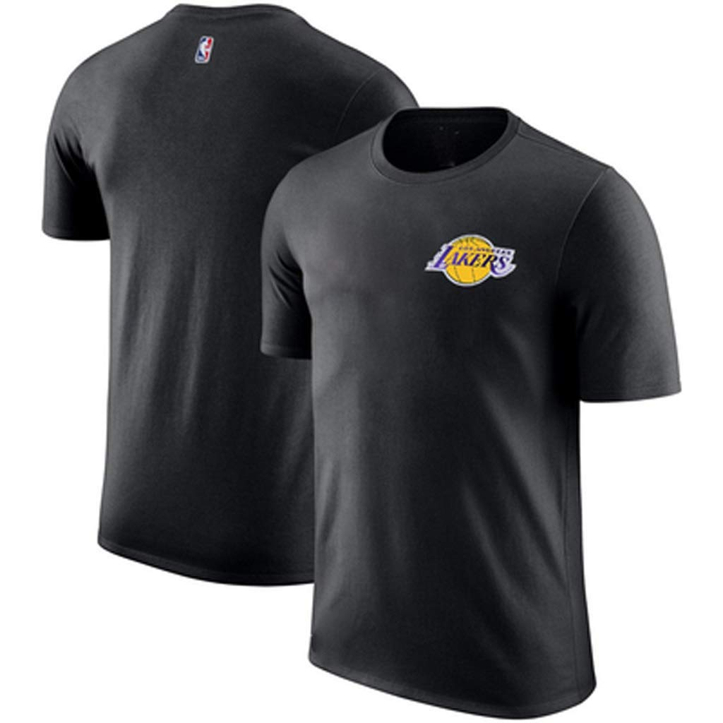 HYYSH Aussehen Basketballuniform Lakers Trainingsanzug Kurzarm T-Shirt Baumwolle Sport Half-Sleeve Male