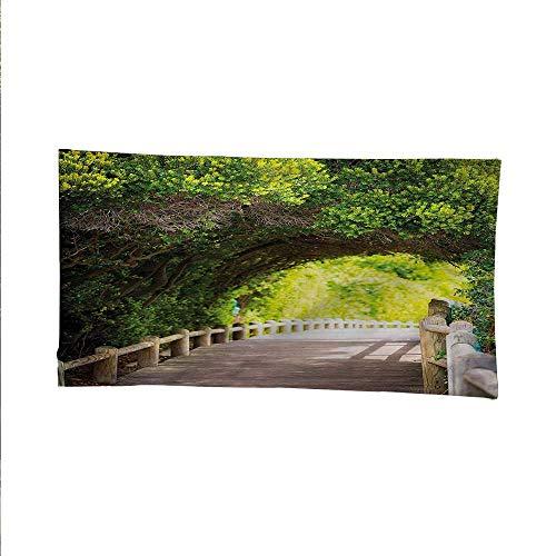 Foresttapestrywall tapestryNature Boardwalk Archway 93W x 70L Inch