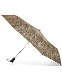 Large One-touch Auto Open Close Umbrella with NeverWet, Micro Leopard