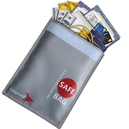 Fire Safe Bags - COLCASE Fireproof Document Bag 15