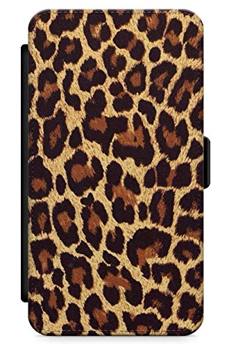 iPhone 5 Case, iPhone 5s, iPhone SE Gold Leopard Print Phone Case by Casechimp | Premium Leather Flip Wallet Card Holder Slots | Animal Print Cheetah Cat Nederdel - Cheetah Charger Iphone 5s