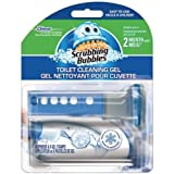 Scrubbing Bubbles Toilet Cleaning Gel with Fresh Mountain Morning Scent - 1 Dispenser & 6 Gel Refills