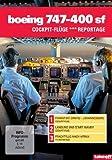 Boeing 747-400 SF - Cockpit-Fl??ge / Reportage