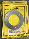 110.000.244, RETAINER BRG STL CLEAR, SCOT PUMP REPLACEMENT PARTS