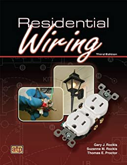 by gary rockis residential wiring 3rd third edition paperback rh amazon com residential wiring book with questions books on residential wiring
