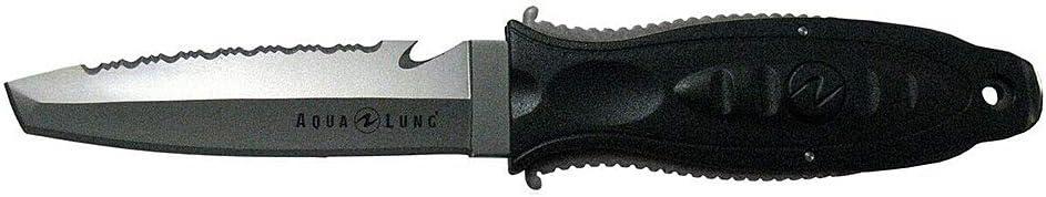 Aqua Lung Big Squeeze Titanium Tanto Tip Dive Knife