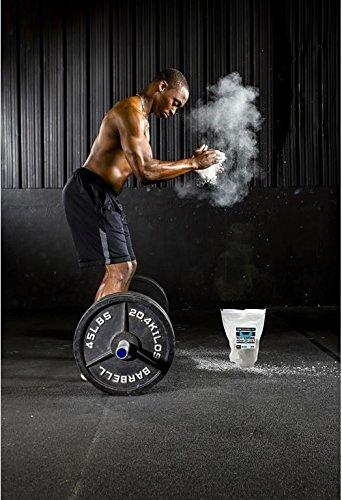 Yeti Strong Ultra Premium Gym Chalk 200g Best Climbing Chalk for Climbing, Weightlifting, and Gymnastics 100%