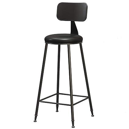 Remarkable Amazon Com Liqicai Bar Stool Iron Frame Dining Breakfast Machost Co Dining Chair Design Ideas Machostcouk