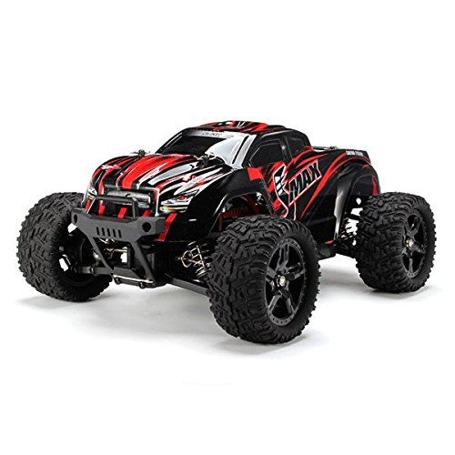 RC Car - REMO 1631 1/16 2.4G 4WD Brushed Off-Road Monster Truck SMAX (Random Colour)