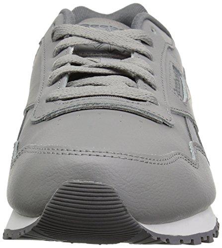 Reebok Harman tin white Usa Cl alloy Femme Grey Run cinder Tennis OFqOZAr