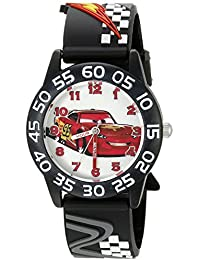Cars Kids' W002695 Cars Analog Display Analog Quartz Black Watch