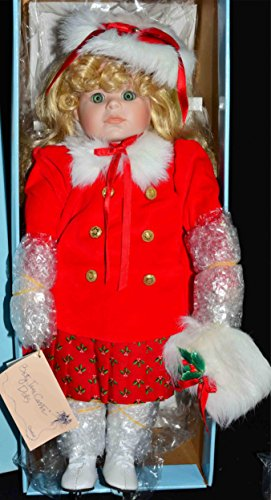 Sugar Plum Fairy Dance Costume (Betty Jane Carter Doll - Goebel Porcelain Doll Collectable Limited Edition Musical Christmas Doll